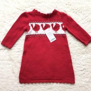 Gymboree Sweater Dress, Size 6-12 months